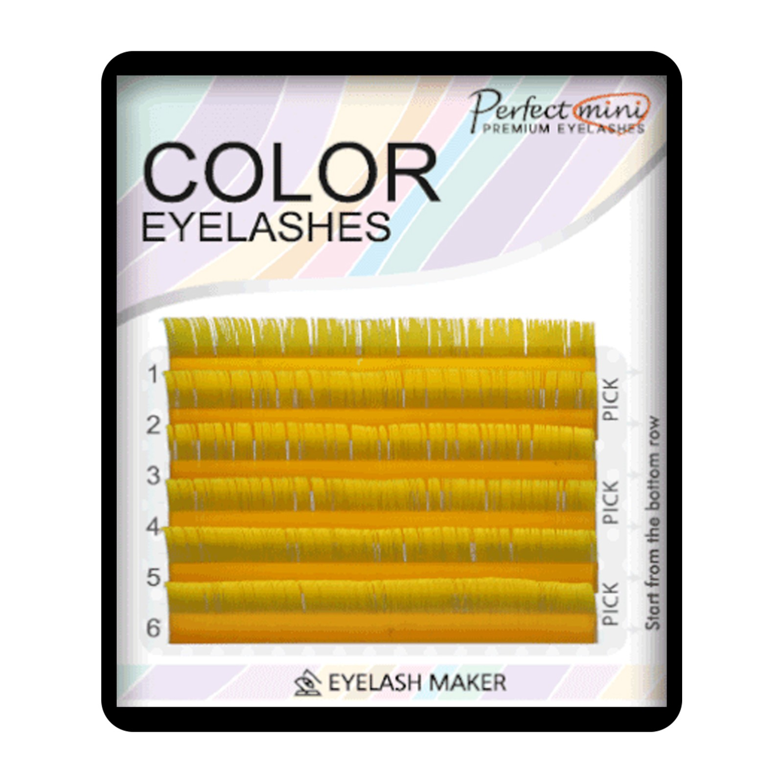 Perfect Mini Color - Galben - Mix 9-13, C, 0.10mm