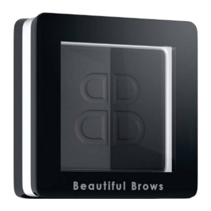 Beautiful Brows Duo - Pudră sprâncene - Ardezie + Negru