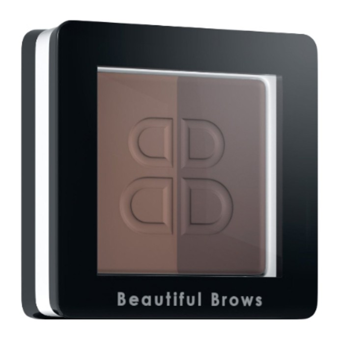 Beautiful Brows Duo - Pudră sprâncene - Maro deschis + Maro mediu