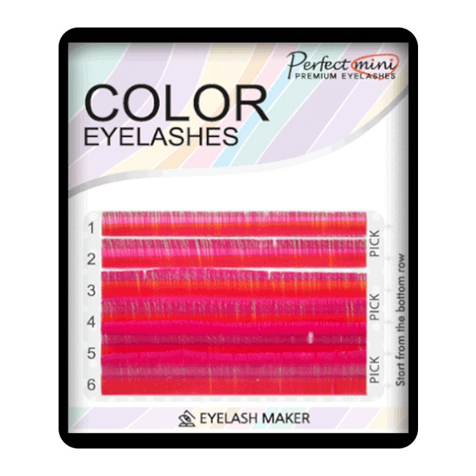 Perfect Mini Color - Fucsia - Mix 8-13, C, 0.10mm