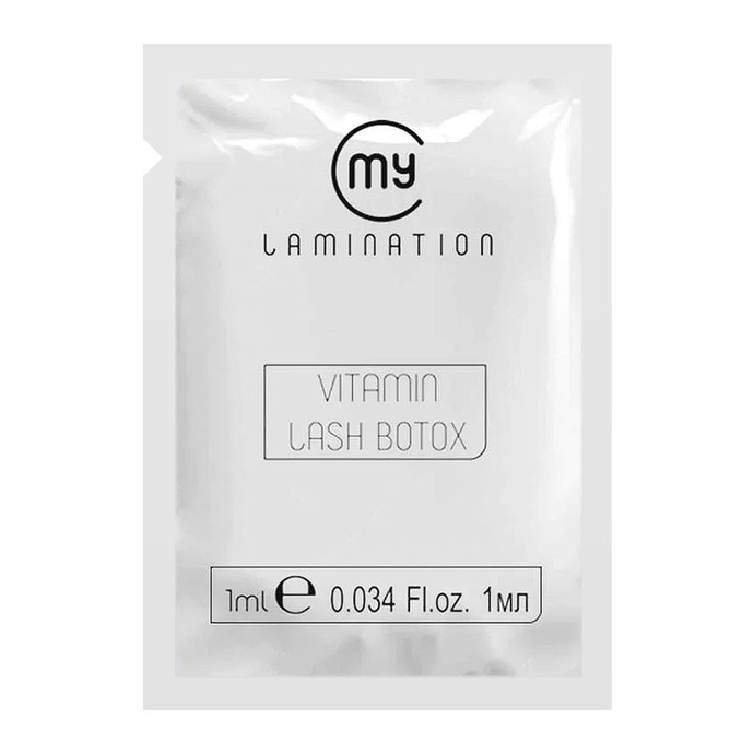 My Lamination - Vitamin Lash Botox - 1ml